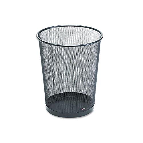 Eldon Expressions Mesh Metal Wastebasket,medium, 11-1/2