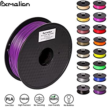 Pxmalion PLA 3D Filament, Dark Orchid, 1.75mm, Accuracy +/- 0.03mm, Net Weight 1KG(2.2LB), Compatible with most 3D Printer & 3D Printing Pen