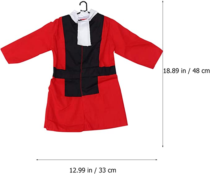 Amosfun disfraz de juez de halloween niños juez robe court justice ...