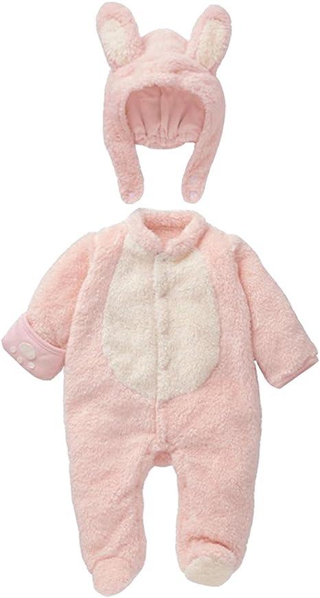 Mamelucos Bebé-Disfraz de Conejo para Bebé Pelele Recién Nacido ...