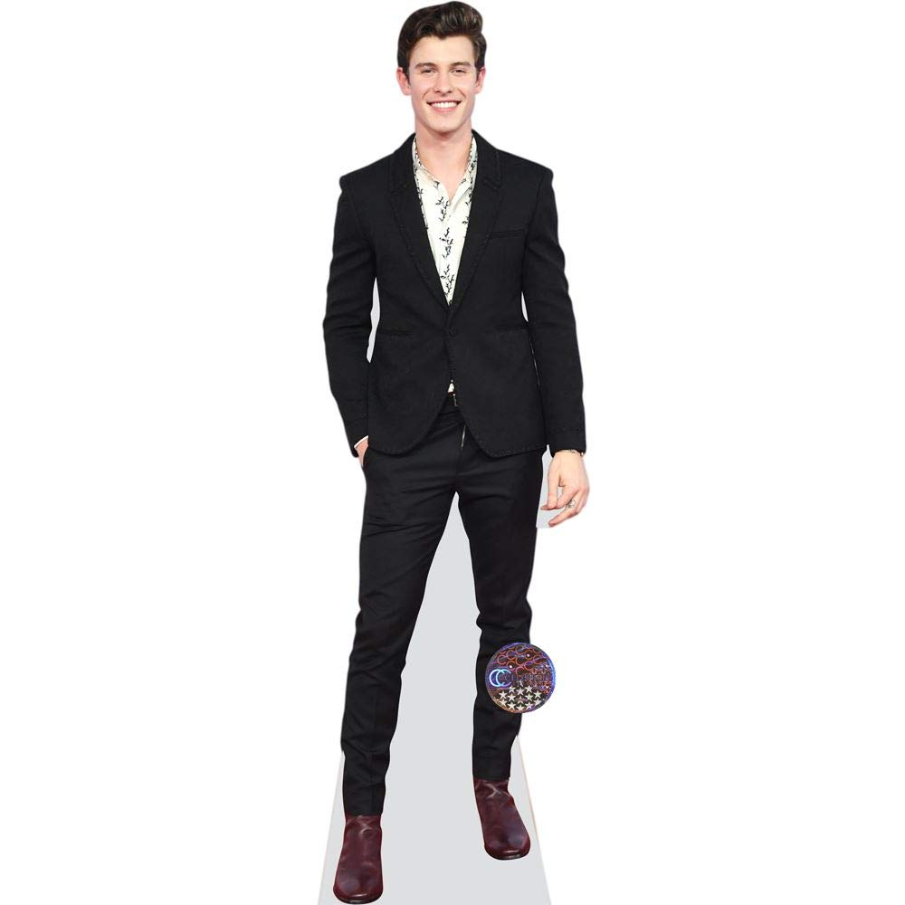 Shawn Mendes (Suit) Life Size Cutout by Celebrity Cutouts