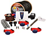Underground Electric Dog Fence Ultimate - Extreme Pro Dog Fence System for Easy Setup and Maximum Longevity and Continued Reliable Pet Safety - 3 Dog | 1000 Feet Pro Grade Dog Fence Wire