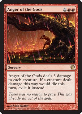 Magic: the Gathering - Anger of the Gods (112/249) - Theros