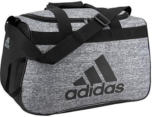 Small Duffle Gym Bag (adidas Unisex Diablo Small Duffel Bag, Onix Jersey/Black, ONE)