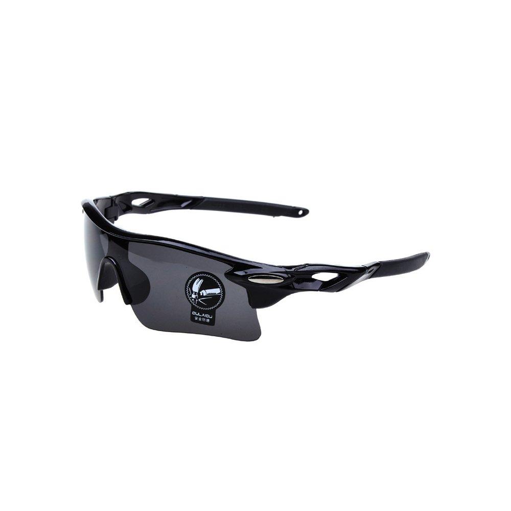 hiokay Lunettes de cyclisme mâle et femelle Fashion Style Eyewear Lunettes de soleil Lunettes de soleil SPORT Course à Pied Voyage personnalité d'équitation Sport Rétro, Blue1