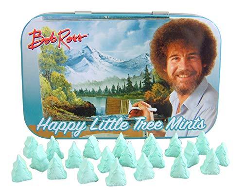Large Mint Tin (Bob Ross Happy Little Tree Mints (1))