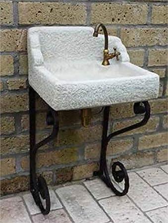 Lavabo de jardín abuelo Luigi cm54 x 46 x 97h Nei Varios colores completo de 540rukit24: Amazon.es: Bricolaje y herramientas