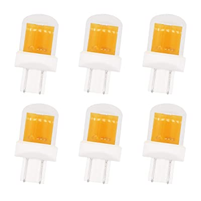 GRV T10 921 192 194 COB 1511 SMD LED Lights Bulbs 2.8W AC/DC 12-14V Glass Ceramic LED for RV Dome Interior Car Lights Warm White Pack of 6: Home Improvement [5Bkhe0406878]