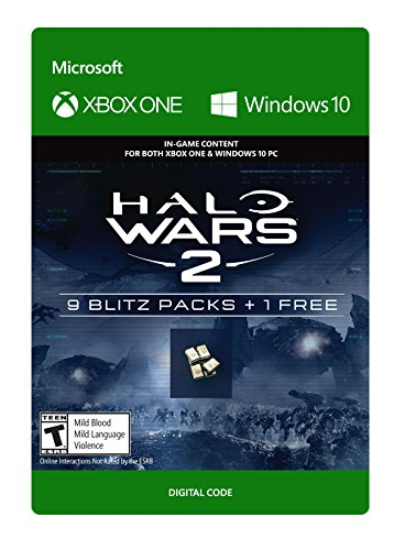(Halo Wars 2: 10 Blitz Packs - Xbox One / Windows 10 Digital Code)