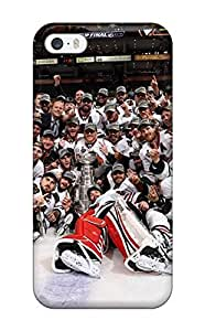New Cute Funny Chicago Blackhawks (112) Case Cover/ Iphone 5/5s Case Cover