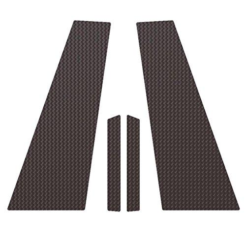 Carbon Fiber Pillar Post Trim Cover fits: 2005-2015 Mercedes CLS550 All Models - Ferreus Industries - PIL-032-CF-a (Covers Pillar B Carbon Fiber)