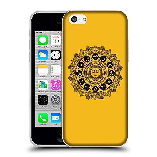 GoGoMobile Coque de Protection TPU Silicone Case pour // Q08610602 Zodiac 1 ambre // Apple iPhone 5C