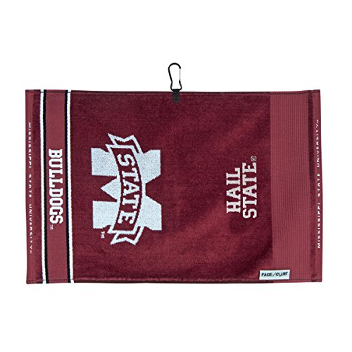 Bag Golf Mississippi (Team Effort Mississippi State Bulldogs Face/Club Jacquard Towel)