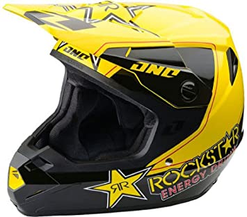 Nuevo 2014 XL One Industries Atom Rockstar casco Motocross Enduro legal en carretera