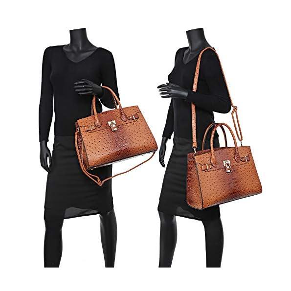 Dasein-Women-Handbags-and-Purses-Ladies-Shoulder-Bag-Top-Handle-Satchel-Tote-Work-Bag-with-Wallet