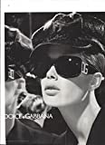 PRINT AD With Julia Stegner For 2005 Dolce & Gabbana Sunglasses