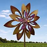 Koehler Home Decor Dancing Sunflower Garden Windmill Garden Spinner