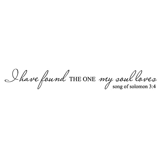 Amazon Com I Have Found The One My Soul Loves Song Of Solomon 3 4