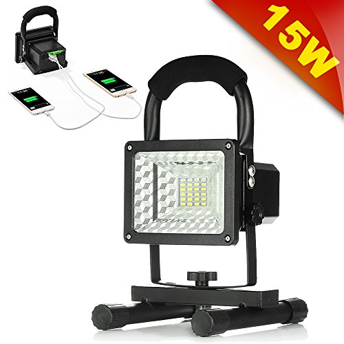 Rechargeable GRDE Emergency Floodlights Batteries