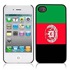 nazi diy Afghanistan Hard Plastic and Aluminum Back Case for Apple iphone 4 4S