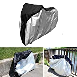 AYAMAYA Bike Cover Waterproof Outdoor UV Protection, 26″ Big Size Heavy Duty Motorcycle Biycle Dust Wind Rain Sun Proof Covers with Carry Bag for Cycling Bike, Mountain Bikes, Road Bikes, Scooters Review