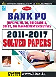 Kiran Bank PO (IBPS PO/MT/SO, RBI Grade-B,SBI PO, SBI Management Executive) 2011-2017 Solved - KP-1945