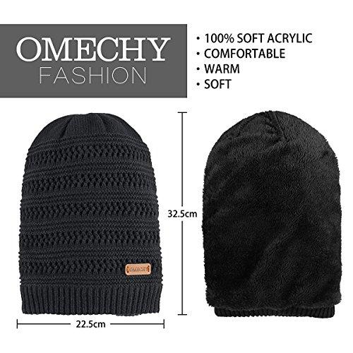 c3ae41a4e29 OMECHY Unisex Slouchy Beanie Hats Winter Warm Knit Skull - Import It All