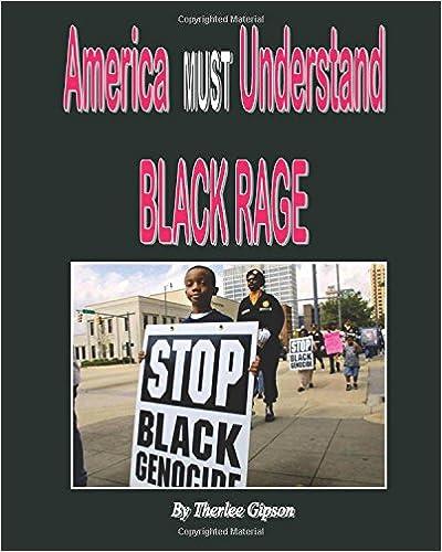 Book America MUST understand BLACK RAGE: Slave Codes