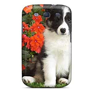 For Galaxy S3 Protector Case Shetl Sheepdog Puppy Phone Cover