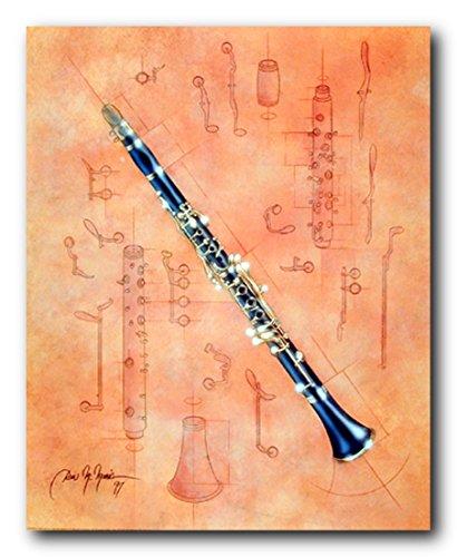 Fine Arts Musical Instrument Clarinet Dan Mcmanis Wall Decor