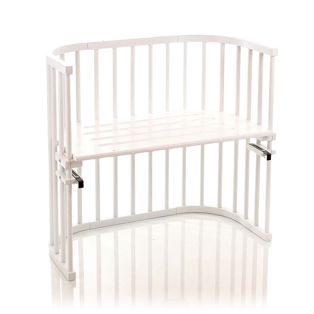 color blanco Cuna adosada con ventilaci/ón extra Babybay Original