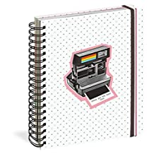 These Are the Days 17-Month Large Planner with 1000+ Stickers 2019-2020