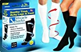 As Seen on Tv Miracle Socks Black Pain Relieving Socks