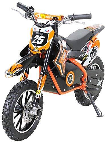 803847f11df Gepard - Motocicleta mini de Enduro y motocross, para niños, eléctrica,  horquilla reforzada, 500 W, 36 V: Amazon.es: Coche y moto