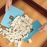 Mahjong Tile Mixer Shuffler - Blue (Set of 2)