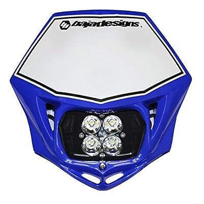 Baja Designs Squadron Pro AC MC LED Race Headlight Blue
