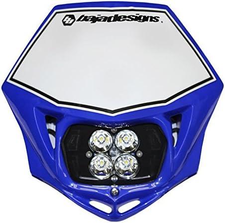 Baja Designs Squadron Sport AC MC LED Race Headlight Blue