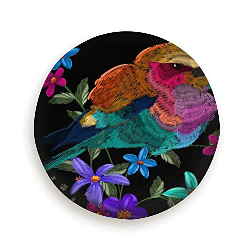smartgood Embroidery Animals Flowers Your Fashion Designs Abstract Art Spare Wheel Tire Cover Waterproof Dust-Proof Universal for Jeep,Trailer, RV, SUV and Many Vehicle 14