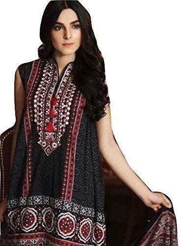 aa061b384b Huma Nasheed's Paki, Lawn Suit, Printed & Digital Embroidered 100% Cotton  Ladies Dress