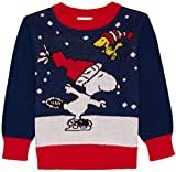 #4: Peanuts Baby and Toddler Boys Snoopy and Woodstock Ugly Christmas Sweater