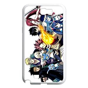 Samsung Galaxy Note 2 7100 White Cell Phone Case Fairy Tail TGKG597471