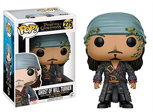 Funko- Ghost of Will Turner Figura de Vinilo, coleccion de Pop, seria Pirates 5 (12806)