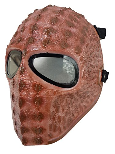 [Invader King ® Raptor Skin Army of Two Airsoft Mask Protective Gear Outdoor Sport Fancy Party Ghost Masks Bb] (Deathstroke The Terminator Costume)