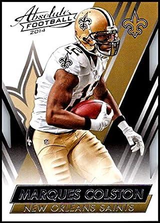 5cc7b889e 2014 Panini Absolute Retail  48 Marques Colston NM-MT New Orleans Saints  Official NFL