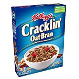 Kellogg's Breakfast Cereal, Cracklin' Oat Bran, Excellent Source of Fiber, Made with Whole Grain, 16.5oz