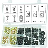 Swordfish 31390 Screw & U Nut/U-Clip Assortment, 170 Piece