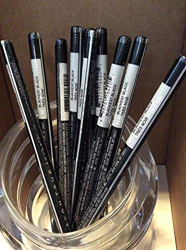 Avon True color Glimmersticks Eye Liner BLACKEST BLACK Lot 10 pcs.