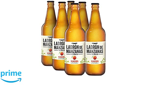 Ladrón de Manzanas Cider - Caja de 6 Botellas x 750 ml - Total: 4.5 L: Amazon.es: Amazon Pantry