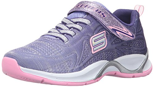 Skechers Kids Hi Glitz Sneaker (Little Kid/Big Kid),Purple/Pink,