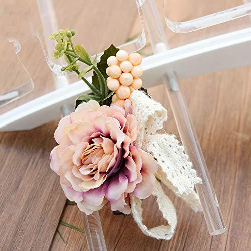 Hair Clip Women Girl Big Rose Flower Hairpins Hair Clips Wedding Party Hair Accessories Women Headwear 1